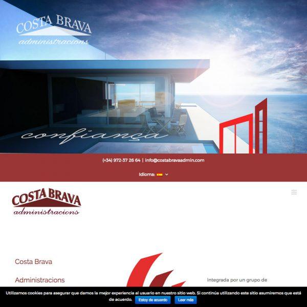 Diseño web Freelance Costa Brava Admin