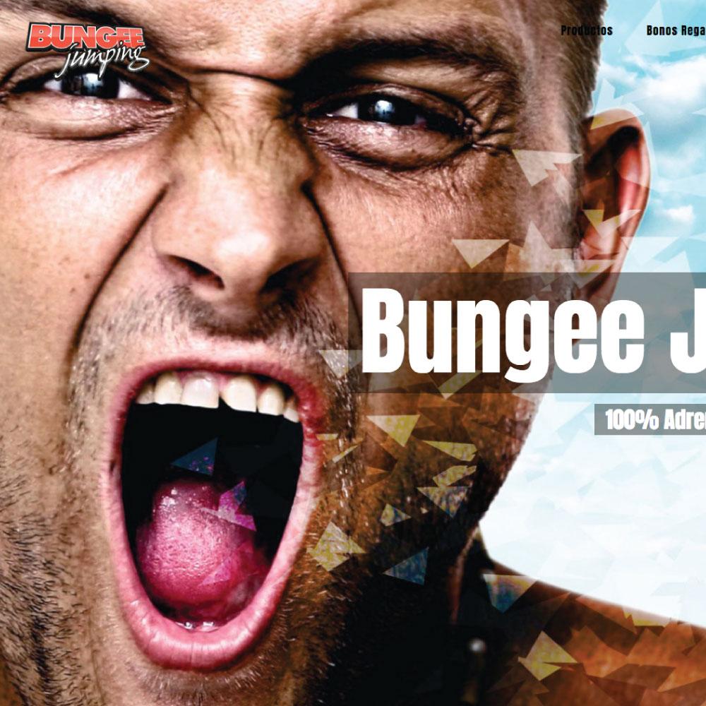 Diseño web Bungee Jumping