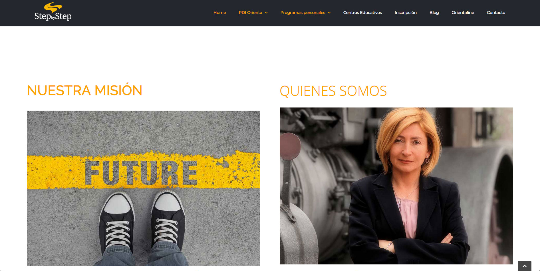 Desarrollo web para Step by Step