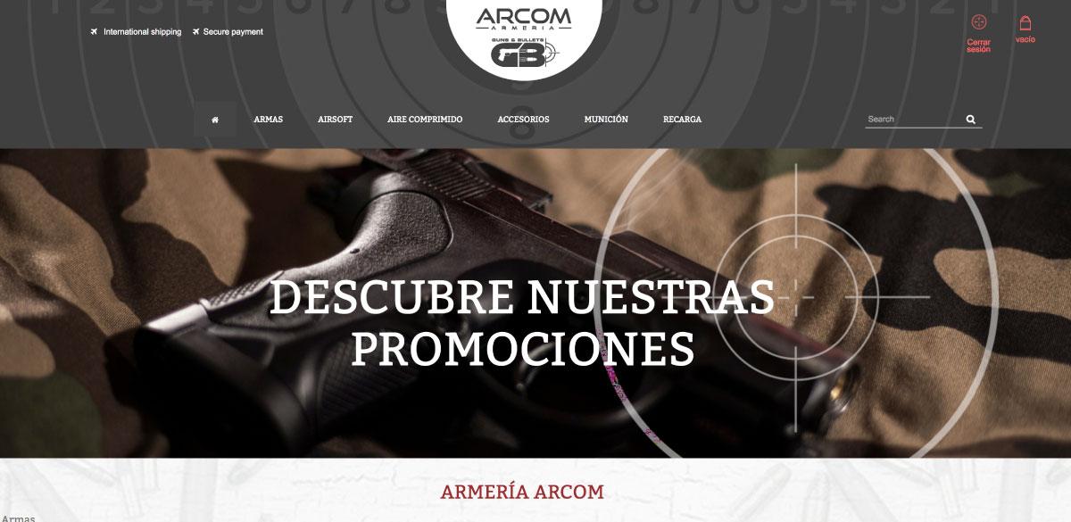 Desarrollo Ecommerce Arcom