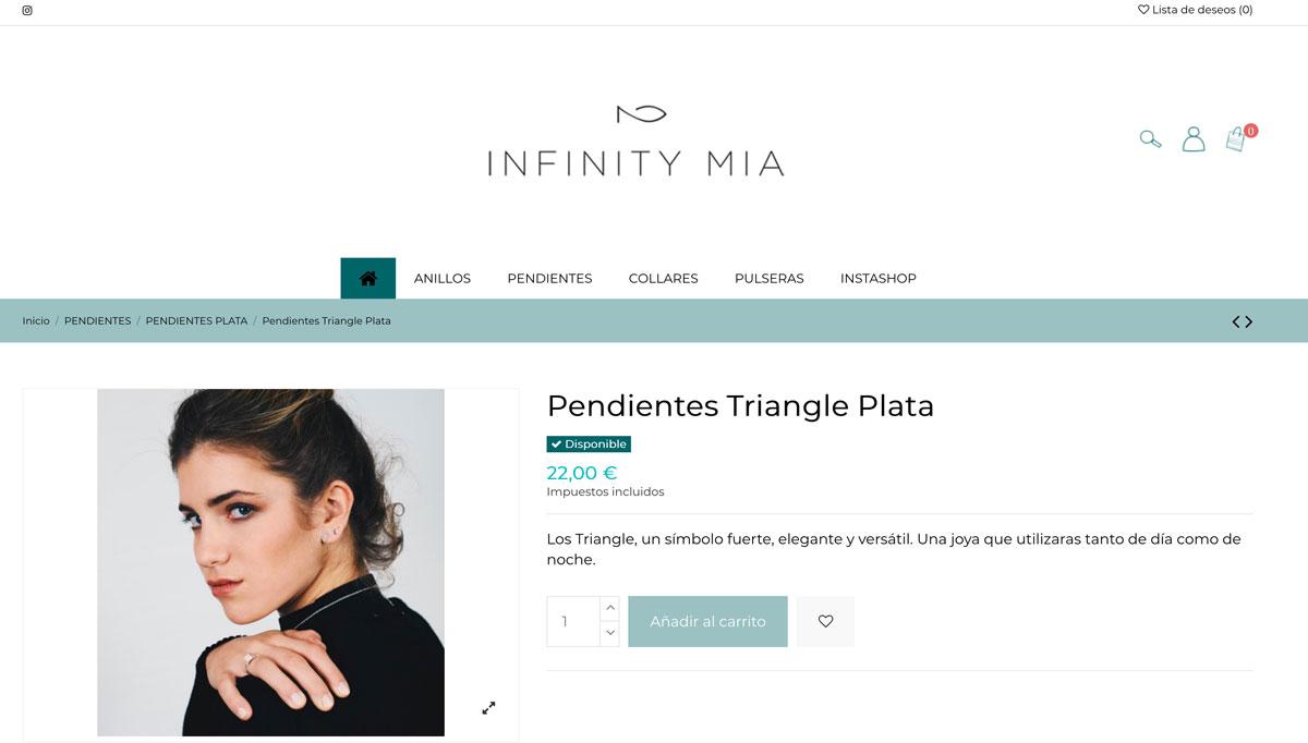 Tienda online Infinity Mia